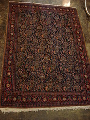 "HAND WOVEN PERSIAN SENNEH RUG. • <a style=""font-size:0.8em;"" href=""http://www.flickr.com/photos/51721355@N02/29696938554/"" target=""_blank"">View on Flickr</a>"