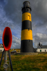 ST JOHN'S POINT LIGHTHOUSE, COUNTY DOWN, N. IRELAND. (ZACERIN) Tags: st johns point lighthouse pictures of st history county down n ireland lighthouse seaside irish sea lighthouses lighthouses in the uk uk lighthouses uk zacerin christopher paul photography picures lighthouses irish ireland only point foghorn
