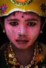 Makeover - Kulasekharapatnam, India (Kartik Kumar S) Tags: kulasekharapatnam tamilnadu india festivals makeup colors faces kid child muthumaran temple festival canon 600d tokina 1116 dushera eyes