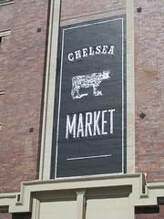Chelsea Market sign (Quevillon) Tags: sign unitedstatesofamerica newyork newyorkcity manhattan midtownmanhattan meatpackingdistrict chelseamarket shoppingmall nationalbiscuitcompany