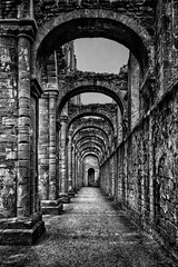 Fountains Abbey (BL1956) Tags: nationaltrust fountainsabbey northyorkshire abbey ruins snapseed