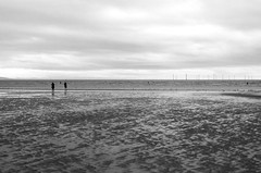Crosby beach, 'Another place' 3 (nicholasgray4) Tags: crosbybeach anotherplace sea gormley pentax k5ii sculpture