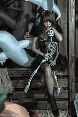 DSC_7453 (Robin Huang 35) Tags: 孫卉彤 candy miruna萬聖風 小惡魔 吸血鬼 vampire 萬聖節 halloween 棚拍 lady girl d810 nikon devil