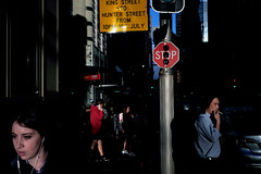 . (ferriswhiskey) Tags: sydney street streetphotography ferriswhiskey fujifilm xpro1 australia city light colour shadow 35mm