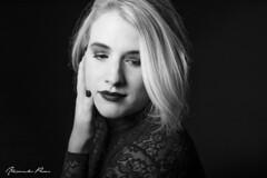 Mareen B&W (alexpauen) Tags: portrt portrait black white girl woman frau dame face gesicht nikon nikkor 50mm f18 studio blitz flash beauty beautiful hbsch blonde blond d750