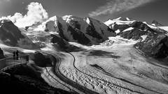 Diavolezza (schneider-lein) Tags: mono monochrome monotone black white blackwhite schwarz weiss berge mountains glacier gletscher natur nature landschaft landscape schnee snow carlzeiss sony sonyalpha7ii alpha7ii a7ii zeissloxia2 821 loxia