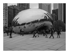 160429_0023_160430 011757_oly_S1_chicago (A Is To B As B Is To C) Tags: aistobasbistoc usa chicago illinois roadtrip travel bw olympus stylus1s anishkapoor cloudgate reflection art