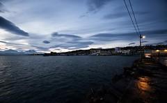 4 (Sergio Eschini) Tags: tromso viaggio travel norvegia normay snow december inverno winter crepuscolo natura landscape porto pier
