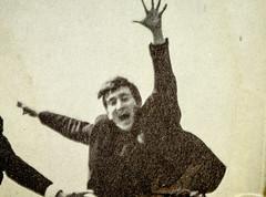 John Lennon Close up (SKAC32) Tags: thebeatles fabfour johnlennon jumping canon100mmf28macro