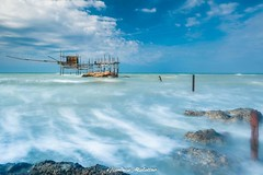 The Trabucco (gianluca malatino) Tags: trabucco acqua mare sail pescatori fisherman sky