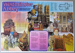 Westminster Abbey (pefkosmad) Tags: jigsaw puzzle leisure hobby pastime complete westminsterabbey 1000pieces history church