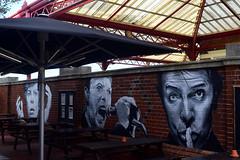 BOWIE TRIBUTE by ROCKY (Di's Free Range Fotos) Tags: bowie davidbowietribute david rocky graffiti art station rock pop star icon legend davidbowie starman mural