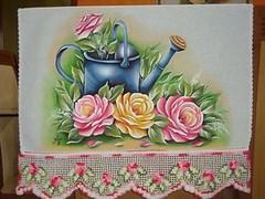 10427290_1023653627647126_2772299952783308323_n (jovanapinturas) Tags: pinturasjovana pinturas em tecido artesanato artes artes decorativas casa decorao tecidos toalhas decoradas fraldas panos decorados pintura pano