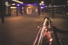 Empty (garethleethomas) Tags: town towncentre bokeh lights christmas xmas closeup canon art arty street photography