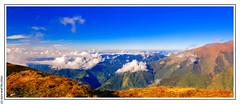 Early monrning on the Kali Danda (4 000 m) (L'Abominable Homme de Rires) Tags: nepal kalidanda annapurna himalaya mardihimal trek atalante landscape