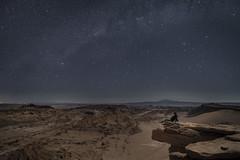 Nightchill (AlDja) Tags: chile san pedro atacama desert valledelaluna valley night nightsky milkyway stars viewpoint longexposure