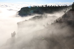 IMG_6047 (Geology Joel) Tags: brycecanyon nationalpark fog clouds sunrise morning nature hoodoos geology weather rock