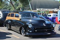 52nd Annual LA Roadsters Show (USautos98) Tags: 1949 chevrolet chevy woodie woody wagon hotrod streetrod custom
