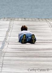 Getting the good shot (Cathy Cates (aka CrafteeCC)) Tags: australia jetties lakebonney southaustralia