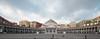 Napoli - piazza del plebiscito (giuseppesavo) Tags: pentax pp9354 photivo sigma816 k7 gimp gmic napoli italia italy vedinapolietigratti naples piazza
