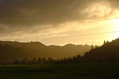 Sun Kissed Valley (KnightedAirs) Tags: d5200 nikon nikkor hdr high dynamic range 60mm afs oregon coast coastal farm land landscape mountain mountains sun clouds cloud sky