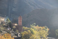Crossing the Atlas Mountains (John Englart (Takver)) Tags: morocco atlasmountains mountains mosque