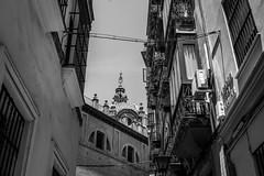 Balconies (Samir Rorless) Tags: sony a6000 pentax smc takumar 28mm f35 andalusia sevilla