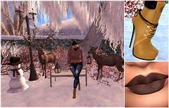 LooK 228# (Wredziaa & Fabian50000pl) Tags: {h}queenz pinkhustlerhair ~gd~ blogger boots fb fur jeans makeup shape wffashion wredziaa