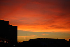 Sunset over the NIA Birmingham UK (arw9876543210) Tags: sunset over nia birmingham uk indoor arena