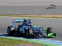 N. Rosberg - MERCEDES (RABIIT) Tags: test f1 sauber red bull toro rosso ferrari vettel sainz rosberg jerez rabiit