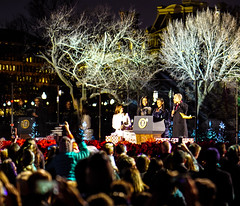 2016.12.01 Christmas Tree Lighting Ceremony, White House, Washington, DC USA 09291