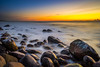 Rocky shore (Richard Larssen) Tags: richard richardlarssen rogaland larssen landscape light long emount exposure sony scandinavia sea seascape sunset sel1635z scenery a7 jæren nd110 horizon hå