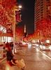 Signal changed, go quickly!! (sapphire_rouge) Tags: 東京 六本木 roppongi 日本 japan 夜景 高層ビル skyscraper roppongihills darkness illumination イルミネーション 六本木ヒルズ けやき坂 keyakizaka tokyotower 東京タワー