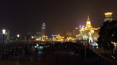 Waitan (RH&XL) Tags: waibaidu bridge waitan bund shanghai china night city architecture skyline huangpu river