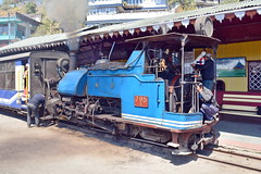 India - West Bengal - Darjeeling Himalayan Railway - Ghum Station - Steam Locomotive 795B - 36 (asienman) Tags: india westbengal darjeelinghimalayanrailway asienmanphotography