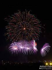 Malta --- Mqabba --- Fireworks --- Santa Marija (Drinu C) Tags: longexposure shells night feast fire colours fireworks sony malta festa stmary dsc santamarija mqabba hx9v adrianciliaphotography