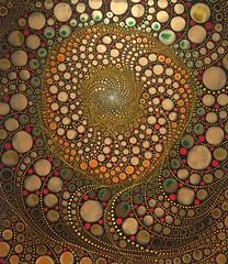 Artwork on Display (buddhadog) Tags: artwork philadelphia abstract circles challengeyouwinner cyunanimous 100vu thiswastheday iphoneawardgroup 500vu gamewin cy2 800 10faves