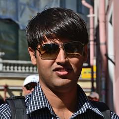 Ray Ban (<b>Debarshi Ray</b>) Tags: boy summer portrait man black guy smile <b>...</b> - 21103865511_c2daeb26c7_m