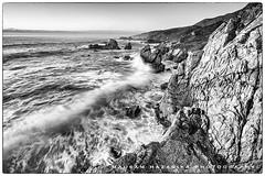 The restless sea (hazarika) Tags: california seascape blackwhite bigsur garrapatabeach canon1635mmf28liiusm canon5dmarkiii mausamhazarikaphotography