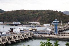 Nampo navy infrastructure in North Korea (bvoneche) Tags: kp coredunord southhwanghae