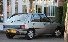J969 WTW (Nivek.Old.Gold) Tags: automatic 1992 peugeot 205 5door 1580cc