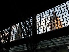 Kln Hauptbahnhof (photobeppus) Tags: people reflections germany deutschland churches railway kln db hauptbahnhof deutschebahn stations ursulakirche