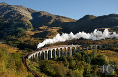 Black 5 No. 45407 - Glenfinnan Viaduct (Jonathon Gourlay) Tags: