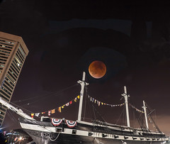 Supermoon-Harvest-Eclipse (Tigereon) Tags: moon eclipse harvest total lunar ecliplse supermoon
