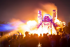 The sacred drunken wookiee burns (dogslobber) Tags: festival fire burning burn sacred drunken nola pyro wookie effigy pyromania ignition chewbaccus chewburnitall