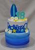 Surfing birthday cake (jennywenny) Tags: birthday cake waves starfish bubbles surfing surfboard 18