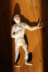 Mummy Jiggler (A.H.I. 1973) (Donald Deveau) Tags: toy rubber ahi themummy vintagetoy universalmonsters jiggler