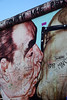 Bruderkuss (Red Cathedral uses albums) Tags: streetart berlin wall germany deutschland graffiti sony rollerderby alpha eastsidegallery berlinermauer leonidbrezhnev erichhonecker dmitrivrubel bruderkuss mirrorless a6000 obstaclerun