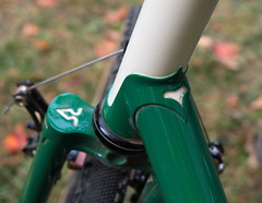 Richard Sachs Frame Detail (Mr.TinDC) Tags: bike bicycle steel frame lugs richardsachs dccx dccx2015