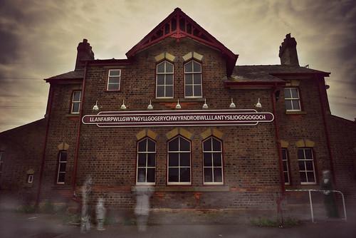 Ghosts of Llanfair PG station
